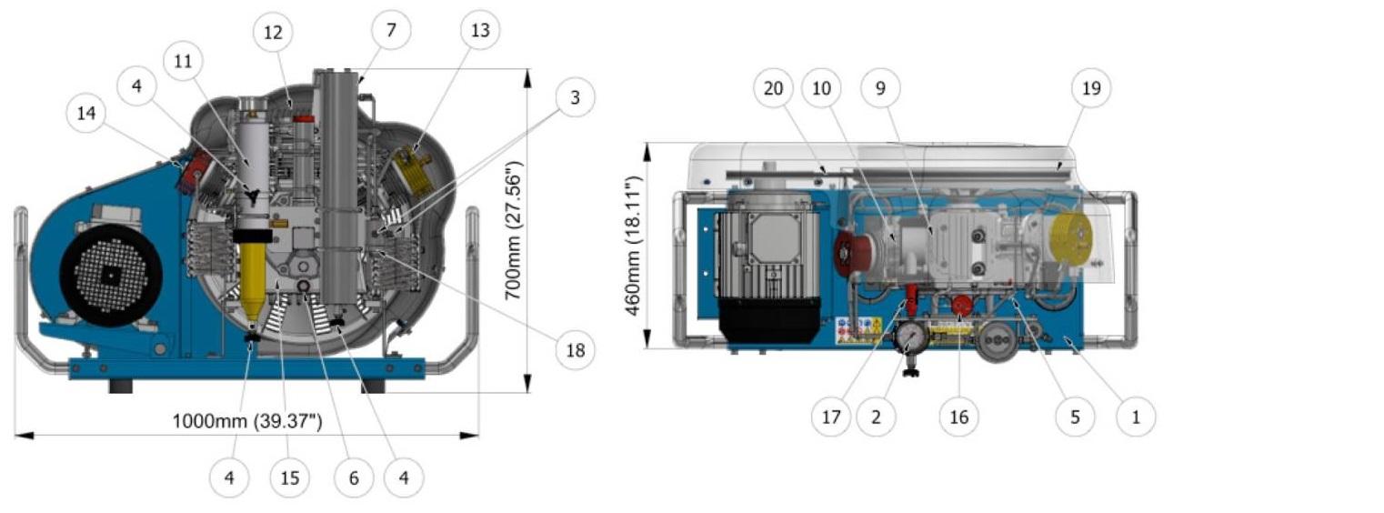 coltri mch 16 smart machine part