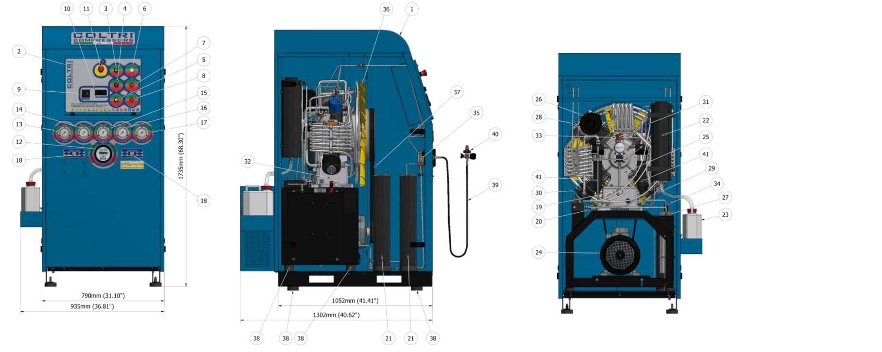 Coltri Air Compressor plans